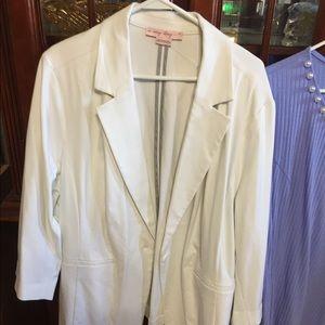3X Pennington's white jacket/blazer not